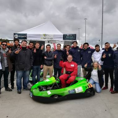 ECOKART PORTUGAL APRESENTOU ECOKART G2 ISEL  NO ESTORIL EXPERIENCE DAY